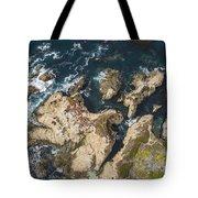 Coastal Crevices Tote Bag