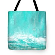 Coastal Inspired Art Tote Bag