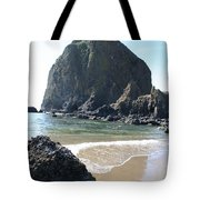 Coastal Landscape - Cannon Beach Afternoon - Scenic Lanscape Tote Bag