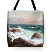 Coastal Landscape. Tote Bag