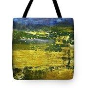 Coastal Marsh View Abstract Tote Bag