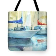 Coastal Sails Tote Bag