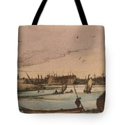Coastal Town Tote Bag