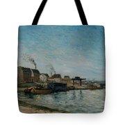 Coastal Village Tote Bag