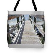 Coastal Walkway Tote Bag