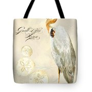 Coastal Waterways - Great Blue Heron Tote Bag