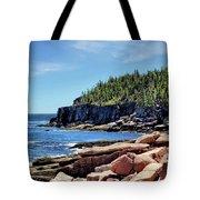 Coastline And Otter Cliff 3 Tote Bag