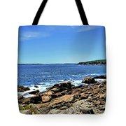 Coastline At Otter Point 5 Tote Bag