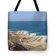Coastline In The Desert Tote Bag