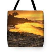 Coastline Sunset Tote Bag