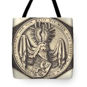 Coat Of Arms With A Lion Tote Bag