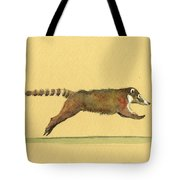 Coati Coatimundi Animal Drawing Tote Bag