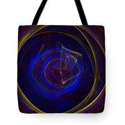Cobalt Blue Tote Bag