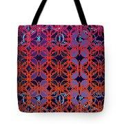 Cobalt Crimson Tote Bag
