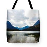 Cobalt Lake Tote Bag