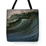 Cobalt Wave Tote Bag