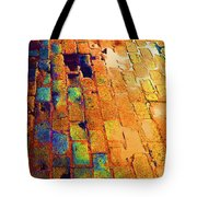 Cobble Stones In Color Tote Bag