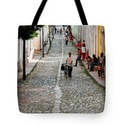 Cobbled Road Tote Bag