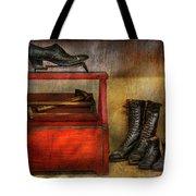 Cobbler - Life Of The Cobbler Tote Bag