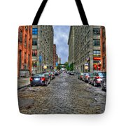 Cobblestone Brooklyn From Dumbo Tote Bag