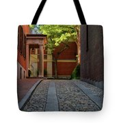 Cobblestone Drive Tote Bag by Michael Hubley
