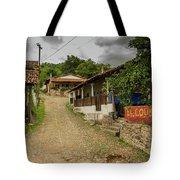 Cobblestone Street Tote Bag