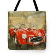 Cobra At Brooklands Tote Bag