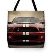 Cobra Red Tote Bag