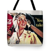 Coca-cola Ad, 1941 Tote Bag by Granger