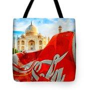 Coca-cola Can Trash Oh Yeah - And The Taj Mahal Tote Bag
