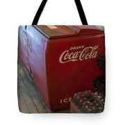 Coca-cola Chest Cooler General Store Tote Bag