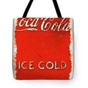 Coca-cola Cooler Tote Bag