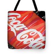 Coca Cola Fan Art Tote Bag