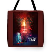 Coca-cola Forever Young 15 Tote Bag by James Sage