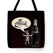 Coca-cola Forever Young 18 Tote Bag by James Sage