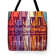 Coca Cola Newspaper Art Pop Art Pur Serie Tote Bag