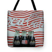 Coca Cola Olympic Commemorative Bottles Tote Bag