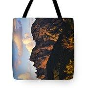 Cochise Head Tote Bag