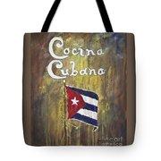Cocina Cubana Tote Bag