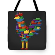 Cock Block Farm Rooster Tote Bag
