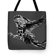 Cock Bw II Transparant Tote Bag