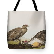 Cock Of The Plains Tote Bag