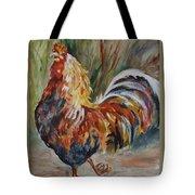 Cock Of The Walk Tote Bag