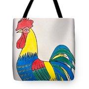 Cockerel 2 Tote Bag