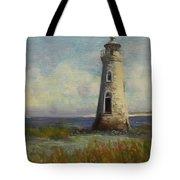 Cockspur Island Lighthouse Tote Bag