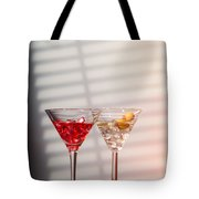 Cocktails With Strainer Tote Bag