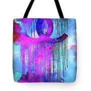 Coco Chanel Liquidated Logo Colorful Tote Bag