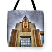Cocoa Art Deco-1 Cr Tote Bag