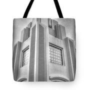 Cocoa Art Deco-2 Bw Tote Bag