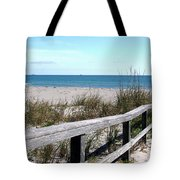 Cocoa Beach In Florida Tote Bag